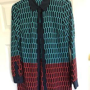 Michael Kors button down shirt dress